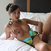 Asian TS Venus Lux Has Some XXX Fun On A Rainy Day