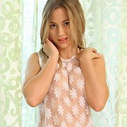 Sweet Teen Petite In Lingerie