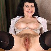 Big Tits Furry Twat Lady In Stockings