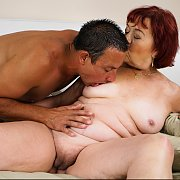 Chubby Grandma Marsha Fucked By Young Dude