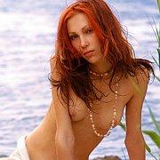 Naked Teen Redhead Beach Beauty