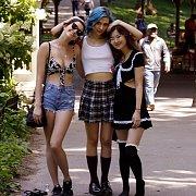 Trio Of Ladies At The Park
