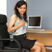 Exotic Office Girl Strips