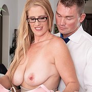 Busty Milf Gets A Younger Man