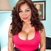 Mature Latina Showing Tits
