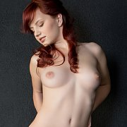 Sweet Red Hair Teen Gets Naked
