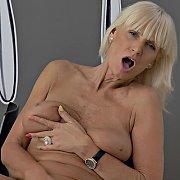 Flirty Older Blonde with Roxana