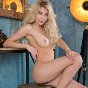 Beautiful Erotic Blonde Model