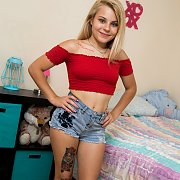 Tiny Barely Legal Teen With Tats Toys