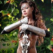 Hot Brunette Warrior Jasmine