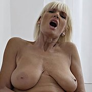 Mature Big Tits Blonde with Roxana