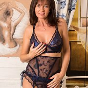 Fine Looking Wife In Pretty Lingerie