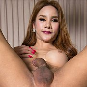 Anny Jacks Her Dick with Ladyboy Anny