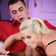Gorgeous Blonde Enjoys A Wild Fuck with Cindy Dollar