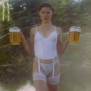 White Lingerie Wearing Julie Bowen In 1996