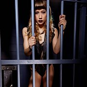 Lingerie Teasing In A Jail Cell
