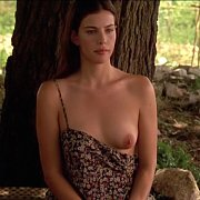 Liv Tyler Exposes Her Teen Breast In Classic Pic