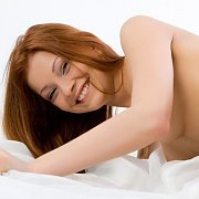 Beautiful Erotic Redhead Nude On The Floor