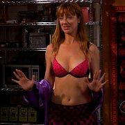Tasty Redhaired Celeb Judy Greer In Bra