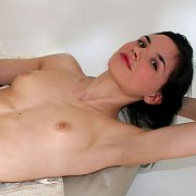 Dark Haired Erotic Young Nude