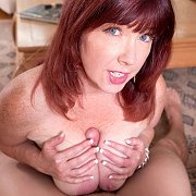 Freckled Chest Titty Fuck Mature