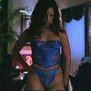 Stacey Dash In Blue Lingerie Back In The Nineties