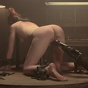 Blind Fear: A Device Bondage Feature with Sheena Rose