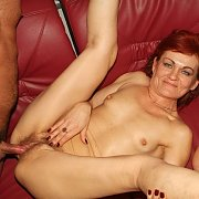 Banging A Tiny Tits Old Woman