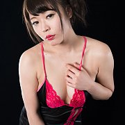 Black And Pink Lingerie Asia Beauty