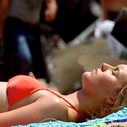 Young Celeb In Her Bikini