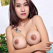 Nice Big Tits Asian Girl