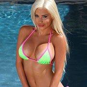 Hot Blonde Spencer Scott In Her Bikini