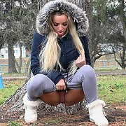 Pissy Relief in the Park with Victoria Pure