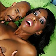 Ebony Babe Gets Pounded Hard with Codi Bryant