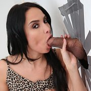 Gloryhole Creampie with Anissa Kate