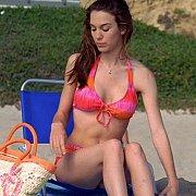 Coed Aged Christy Carlson Romano In Her Bikini