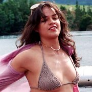 Bikini Top Michelle Rodriguez At The Lake