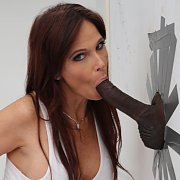 Anal Thru The Glory Hole with Syren Demer