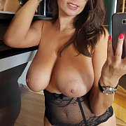Big Titties Milf Taking A Selfie