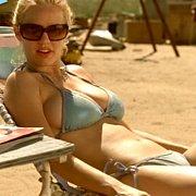 Busty Coed Aged Blonde Kelli Garner In Bikini