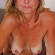 Freckled Milf With Tanlined Tits