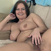 Chubby Hairy Milf Touching Herself