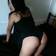 Asian Cam Girl On All Fours