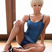 Blue Eyes Blonde Japanese Transsexual