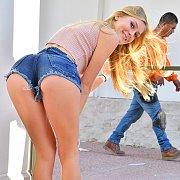 Sexy Leggy Teen with Jenni Jordan