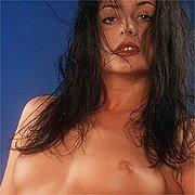 Arousing Raven Haired Model