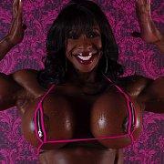 Big Tits Black Bodybuilder
