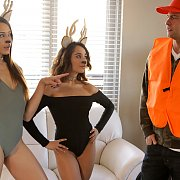 Pussy Hunter with Avi Love, Isabella Nice