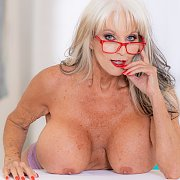 Sally D'Angelo Fucks Her Young Male Massage Client