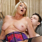 MILF Amy's Younger Neighbor Can't Get Enough